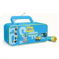 Minions Portable Sing Along Radio CD Player