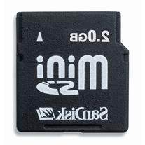 SanDisk 2GB MiniSD Card