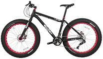 Framed Minnesota 3.0 Fat Bike Black/Red 20in Mens