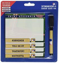 Minnesota Twins 4 Pack Magnetic To Do Notes