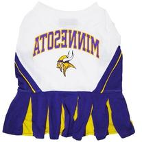Pets First MVCLO-M Minnesota Vikings NFL Dog Cheerleader
