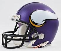 Riddell NFL Minnesota Vikings VSR4 Mini Helmet