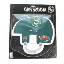 Minnesota Wild NHL Big Helmet Computer Mouse Pad
