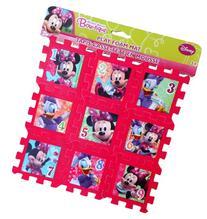 "Disney Minnie Mouse Bow-tique Foam Play Mat Puzzle 9"" X 9"