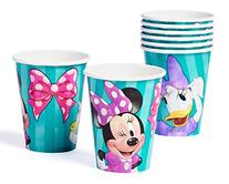 Minnie Mouse Bowtique 9oz Paper Party Cups, Pack of 8, Party