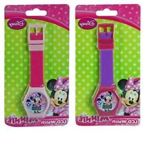 Disney Minnie Mouse Digital LCD Wrist Watch Boys Stocking