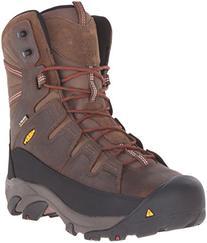 Keen Utility Men's Minot 600G Work Boot, Cascade Brown/Bossa