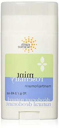 Earth Science Rosemary/Mint Deodorant, 2.45-Ounce Containers