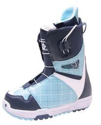 Burton Mint Snowboard Boots Classic Blue Womens Sz 4