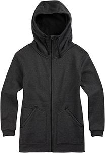 BURTON Women's Minxy Full Zip Fleece Sweater, True Black