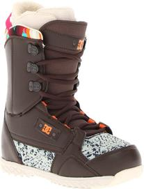 DC Women's Misty 13 Snowboard Boot,Brown/Blue,7 M US