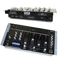 "EMB MIX7UB 19"" Rack Mount 4 Channel Professional Mixer w/USB"