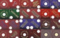 MIXED REAL USED CASINO COLLECTOR DICE NOT DRILLED