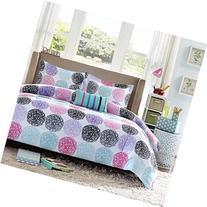 Mi Zone - Carly Comforter Set - Purple - Twin/ Twin XL -