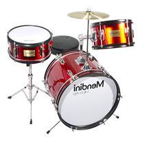 Mendini by Cecilio 16 inch 3-Piece Kids / Junior Drum Set