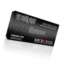 Microflex MK296L-10PK - Midknight Black Nitrile Gloves -