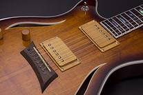 Michael Kelly MKHYSSPB Hybrid Special Semi-Hollow-Body Electric Guitar, Spalted Burst