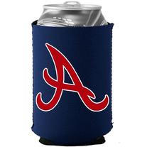 MLB Atlanta Braves Navy Blue Collapsible Can Koozie
