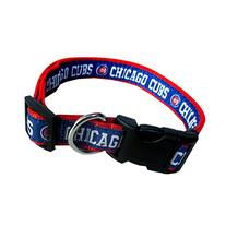 Pets First MLB Chicago Cubs Pet Collar, Large