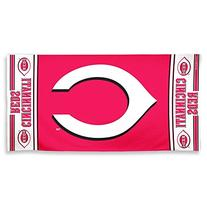 MLB Cincinnati Reds 30 by 60 Fiber Reactive Beach Towel
