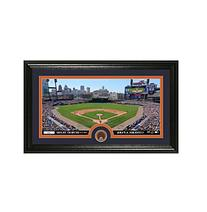 MLB Detroit Tigers Infield Dirt Coin Panoramic Photo Mint