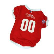 MLB Dog Clothing - Philadelphia Phillies Dog Jersey - Medium