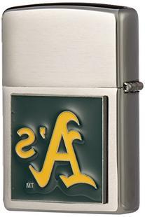 MLB Large Emblem Zippo Lighter - Oakland Athletics