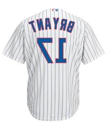 Mens MLB Kris Bryant #17 Chicago Cubs Cool Base Jersey, Home