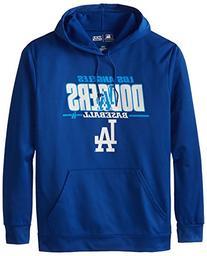 MLB Los Angeles Dodgers Men's SA2 Fleece Hoodie, Royal,