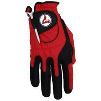 Zero Friction MLB St. Louis Cardinals Golf Glove, Left Hand