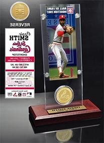 """MLB St. Louis Cardinals Ozzie Smith """"Hall of Fame"""" Ticket &"""
