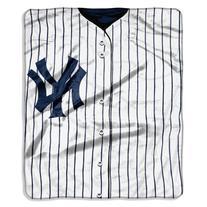 MLB New York Yankees Jersey Raschel Throw, 50 x 60-Inch