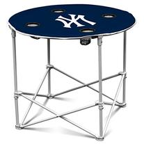 MLB NY Yankees Round Tailgating Table