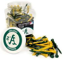 MLB Oakland Athletics 175 Tee Jar, Yellow