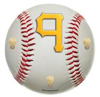 MLB Pittsburgh Pirates 15-Inch Baseball Shaped Coat Rack