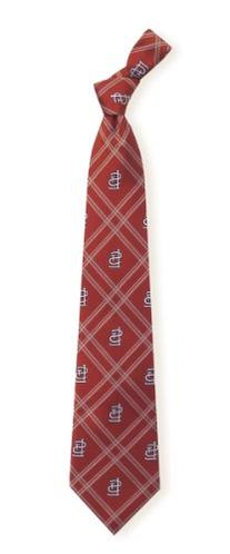 St Louis Cardinals Poly 2 Woven Tie
