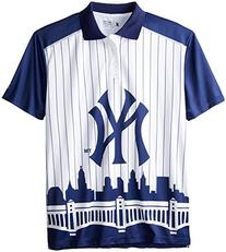 KLEW MLB New York Yankees Polyester Short Sleeve Thematic