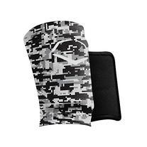 EvoShield MLB Protective Wrist Guard, Black/Grey, Medium