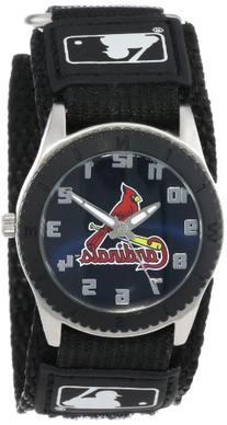 "Game Time Unisex MLB-ROB-STL ""Rookie Black"" Watch - St."