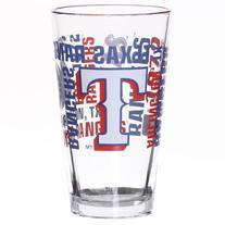 Texas Rangers 16oz Mlb/rangers Se Pint Os