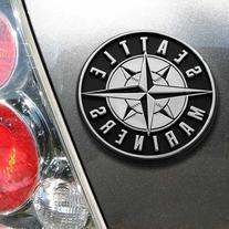 MLB Seattle Mariners Chrome Automobile Emblem