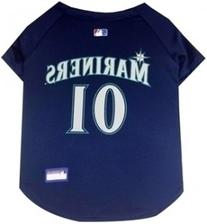 Pets First MLB Seattle Mariners Dog Jersey, X-Small