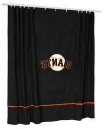 San Francisco Giants Sidelines Shower Curtain