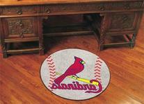 FANMATS MLB St Louis Cardinals Nylon Face Baseball Rug