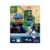MLB Tampa Bay Rays Evan Longoria Generation 3 Toy Figure