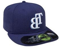 MLB Tampa Bay Rays Game AC On Field 59Fifty Fitted Cap-712
