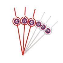 MLB Washington Nationals Six Pack Team Sip Sport Straws