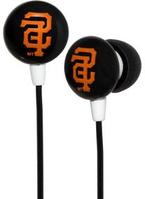 iHip MLF10169SF MLB San Francisco Giants Printed Ear Buds,