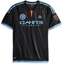 MLS New York City FC Men's Replica Short Sleeve Jersey,