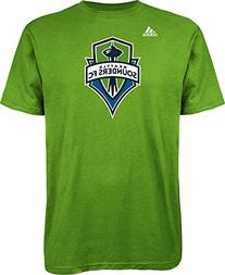 MLS Seattle Sounders FC Men's Logo Set Tee, Medium, Rave